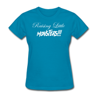 Raising Little Monsters!!! - turquoise