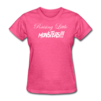 Raising Little Monsters!!! - heather pink