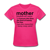 Mother Definition - fuchsia