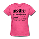 Mother Definition - heather pink