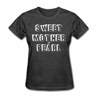 Sweet Mother Of Pearl Vintage (White) - heather black