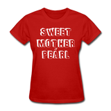 Sweet Mother Of Pearl Vintage (White) - red