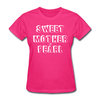 Sweet Mother Of Pearl Vintage (White) - fuchsia