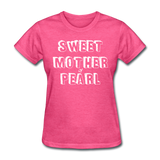Sweet Mother Of Pearl Vintage (White) - heather pink