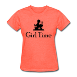 Girl Time - heather coral