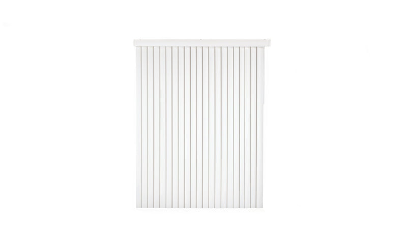 Vertical Blinds 78 x 84 in White