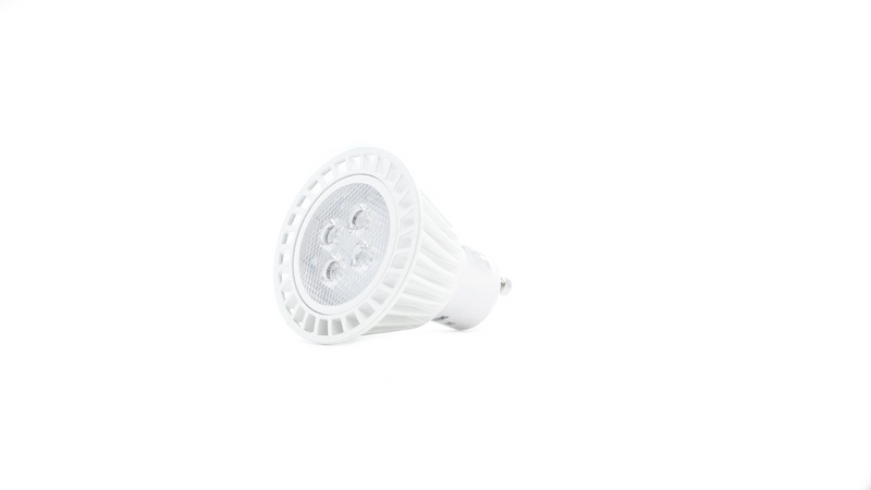 2 Prong LED Light Bulb GU10 3000k Soft White