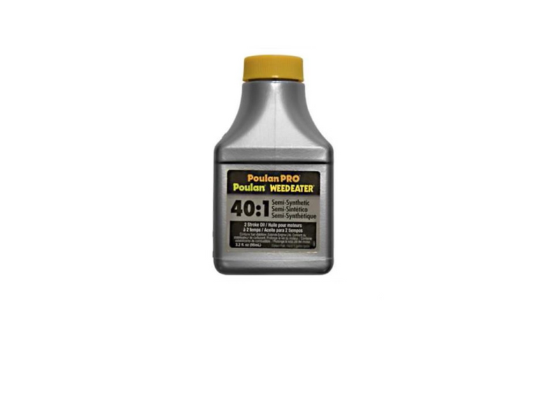 Poulan Pro Weedeater 40:1 Full Synthetic Blend 2 Stroke Oil 3.2 oz