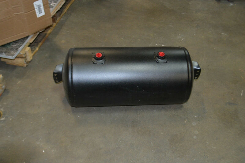 Velvac Steel Air Tank, Black Powder coated