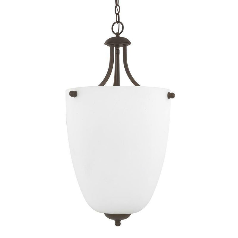 Capital Signature 3 Light Chandelier Burnished Bronze