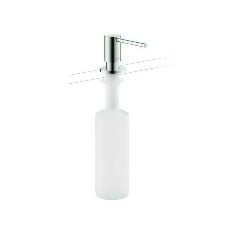 Axor 42818 uno, Deck Mounted Soap Dispenser, 16oz capacity, Polished Chrome