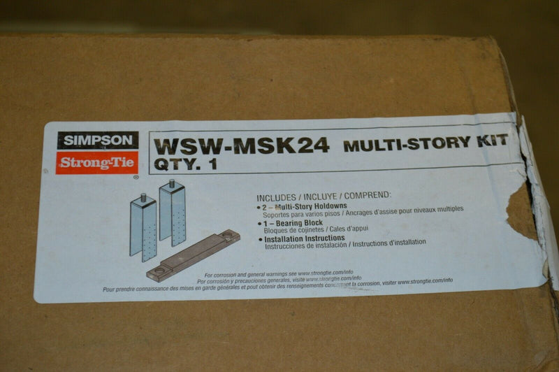Simpson Strong-Tie WSW-MSK24 MULTI STORY KIT