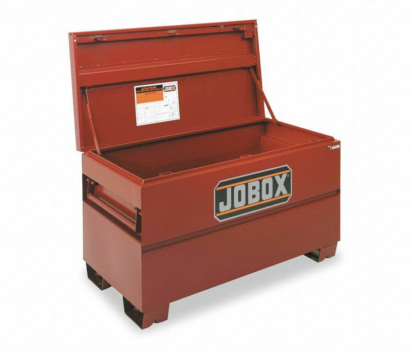 "CRESCENT JOBOX 27-3/4"" x 24"" x 60"" Jobsite Box, 19.3 cu. ft., Brown"