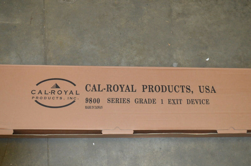 Cal-Royal 2280V 3696 LHR Vertical Rod Exit Device