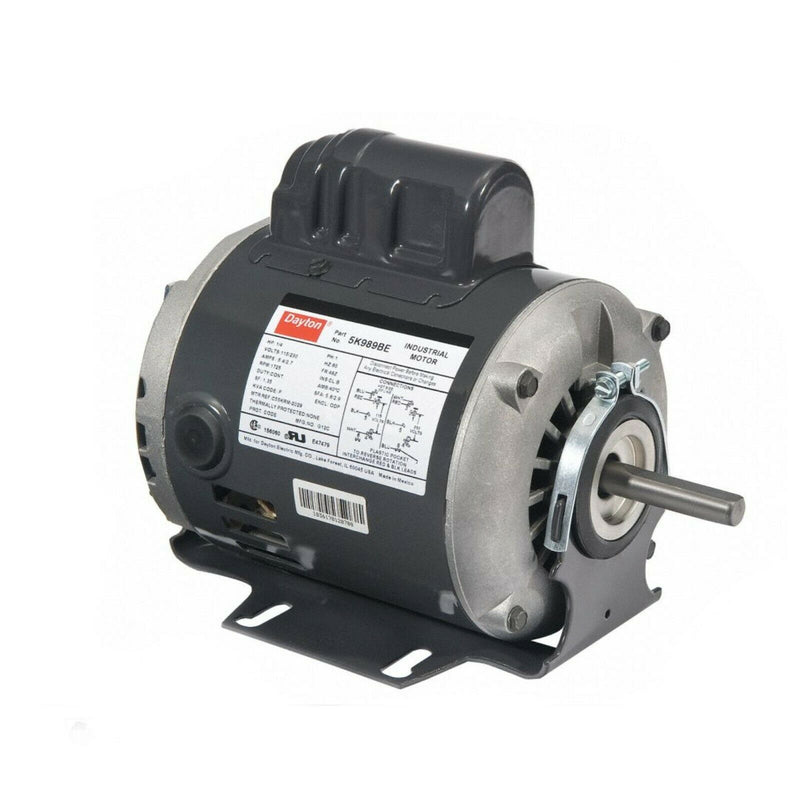 Dayton  Motor 6K438BE, 1/4HP General Purpose motor , Capacitor-Start
