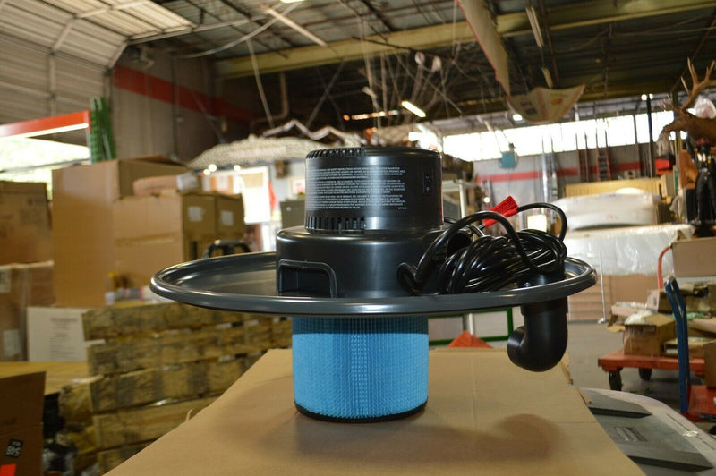 Dayton Drum-Top Vacuum Head, 55 gal, Model 4ye60