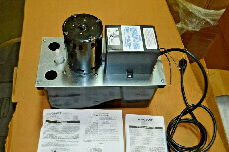 Little Giant 1/18 hp HP Condensate Removal Pump, Model 3P732