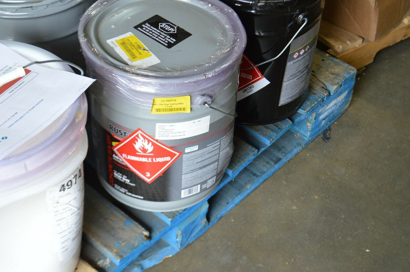 Rust oleum Anti Slip Floor coating, Silver gray 5 gallon