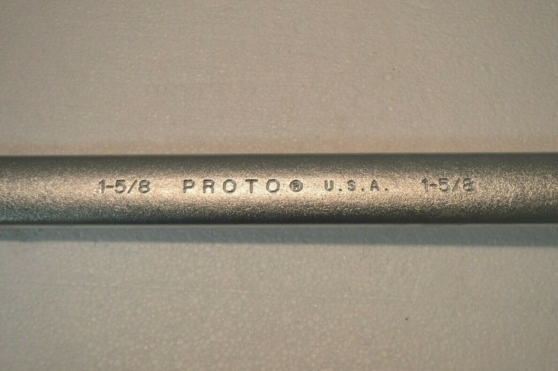 "Proto USA Professional 1252 1-5/8"" Combination Wrench 12-Pt"