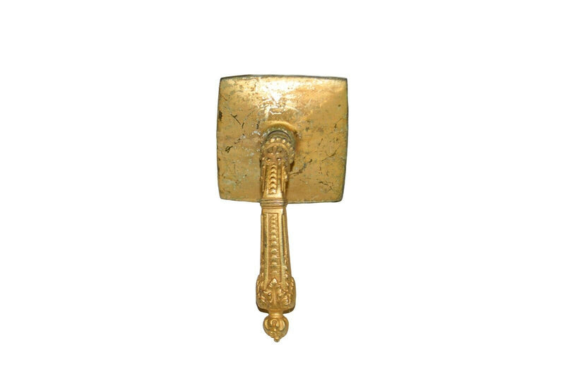 Sherle Wagner 22k gold plated bath knob fixture