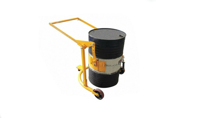 "Steel Drum Carrier 21VG48, Manual, 800lb load capacity, 37 1/2"" overall length,"