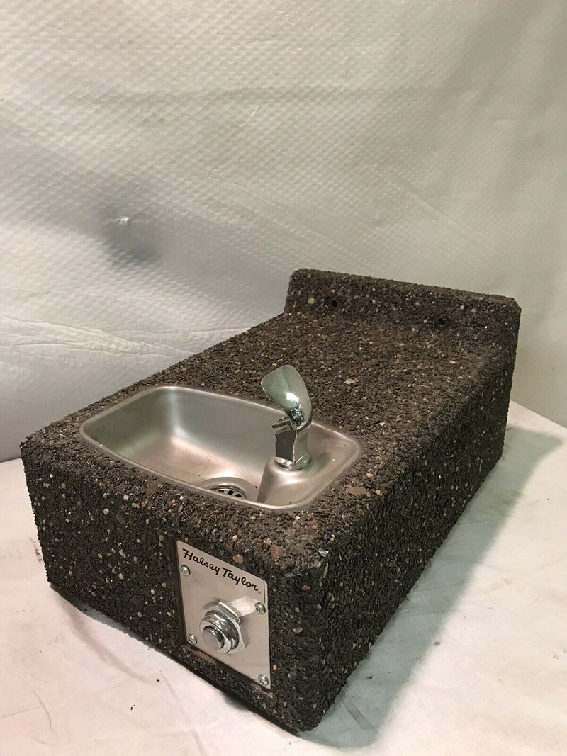 Halsey Taylor 4593 - Sierra Stone Face-Mounted Barrier Free Drinking Fountain