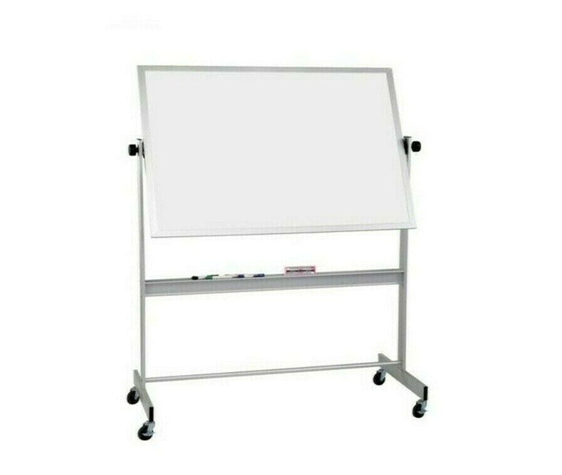 Best Rite 668af-dd Dry Erase Mobile Board with Wheels 4'x5'