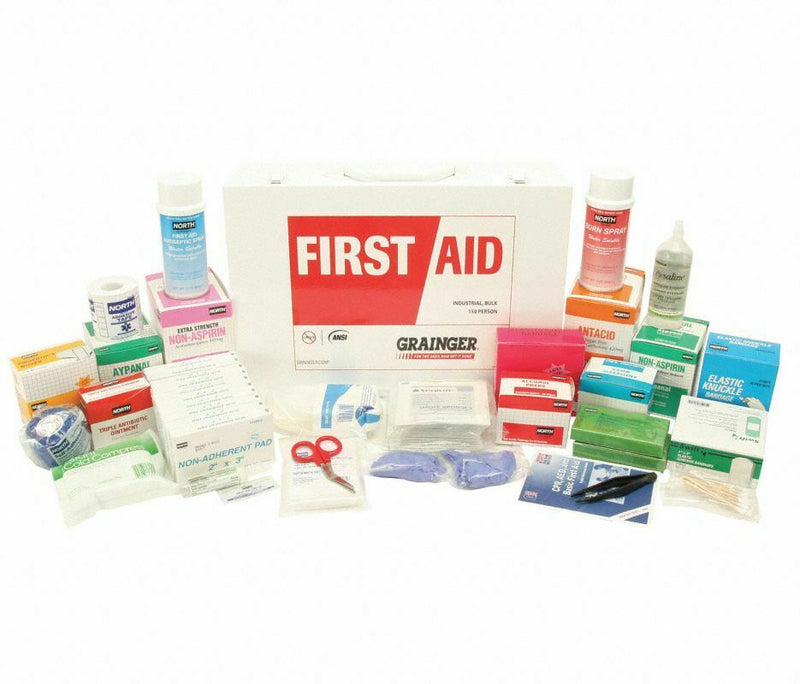 Honeywell first aid kit , 30 pcs with cabinet, 150 ppl