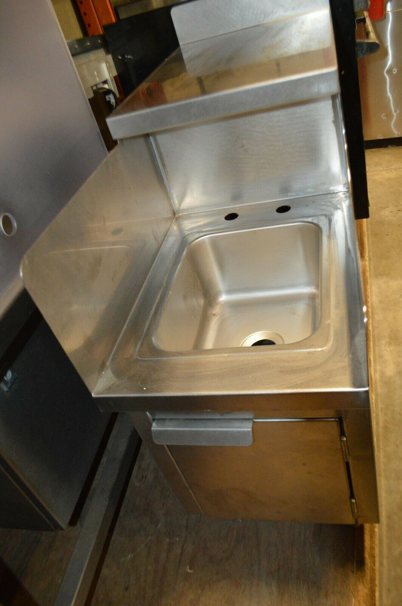 free standing Sink with splash guards