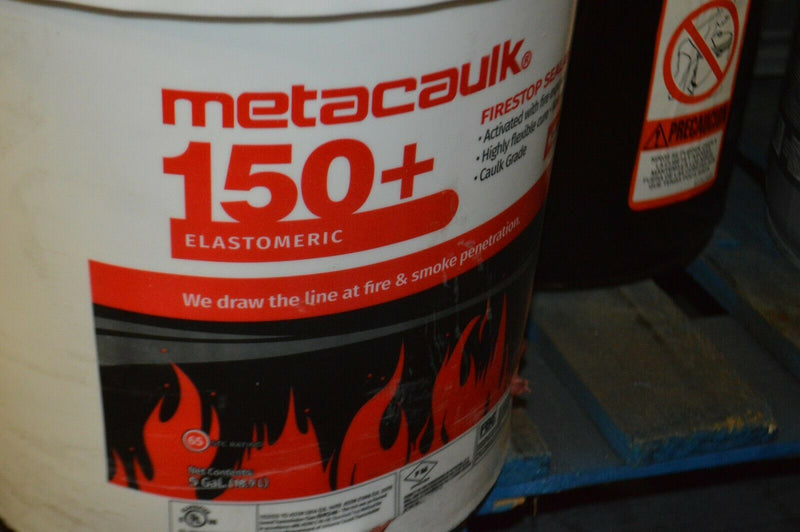 Metacaulk firestop sealant, 5 gal Pail,  color red