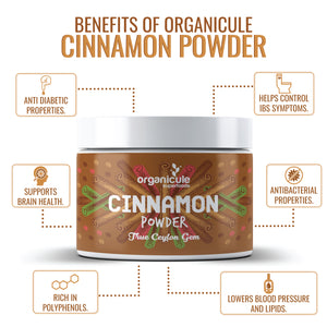 Organicule Cinnamon Powder 100g