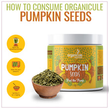 Load image into Gallery viewer, Organicule Pumpkin Seeds 300g