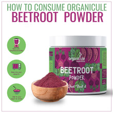 Load image into Gallery viewer, Organicule Beetroot Powder 300g