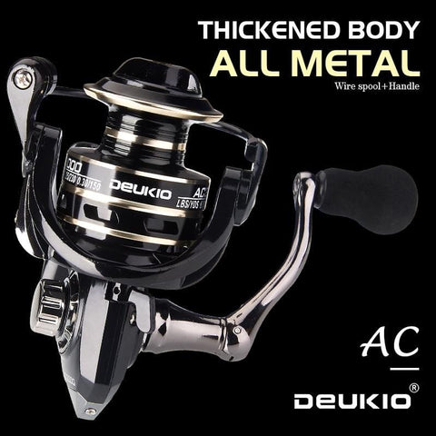 Fishing Reel Spinning 8KG Max Drag Metal Stainless