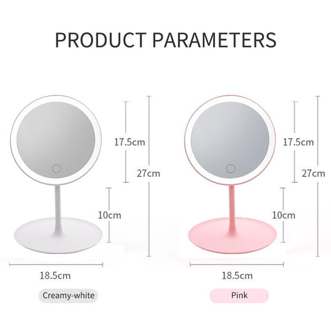 LED Touch Screen Cosmetic Mirrors