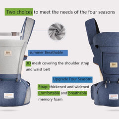 Baby Carrier Waist Stool Walkers Hip Seat Belt Kids Adjustable