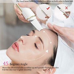 Ultrasonic Facial Cleaner Spatula Face Lifting Massager