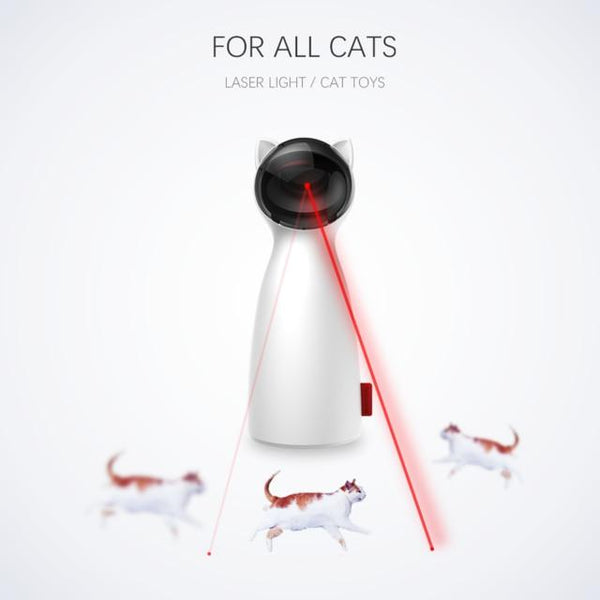 Automatic Cat Toys Interactive Smart Teasing  LED Laser