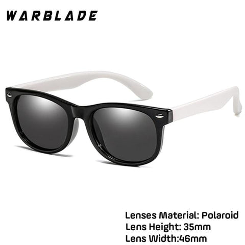 WarBlade New Kids Polarized Silicone Sunglasses