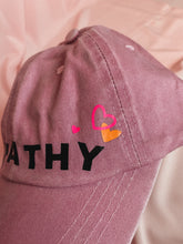 Load image into Gallery viewer, Pink Empathy Baseball Cap