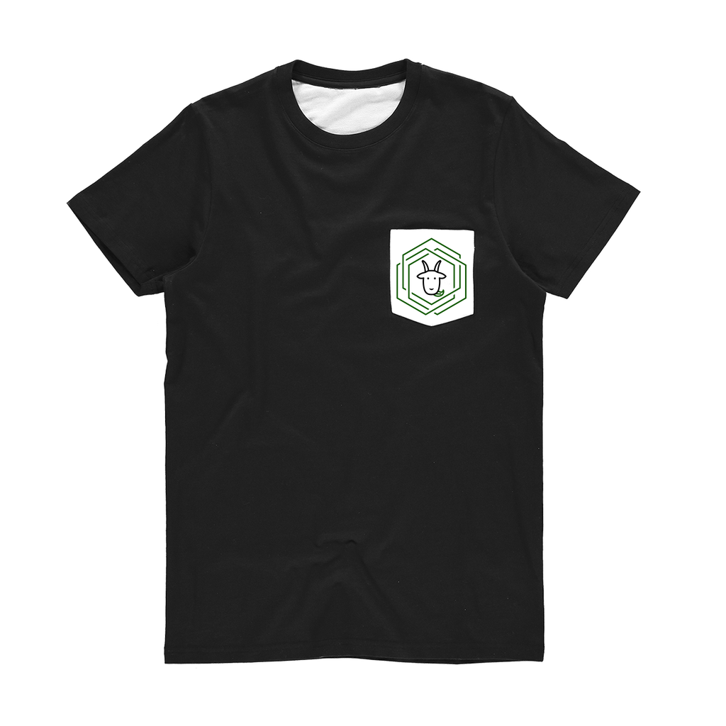 eco friendly, environmental friendly, ecological, bio, biological, reusable, environmentalist, organic, green, sustainable clothing, sustainable fashion, sustainable brands, sustainable development. plastic free shop, t-shirt, pocket t-shirt, black