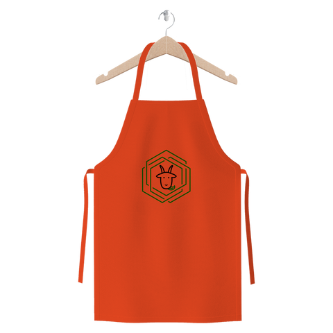 eco friendly, environmental friendly, ecological, bio, biological, reusable, environmentalist, organic, green, sustainable clothing, sustainable fashion, sustainable brands, sustainable development. plastic free shop, durable, apron, orange,