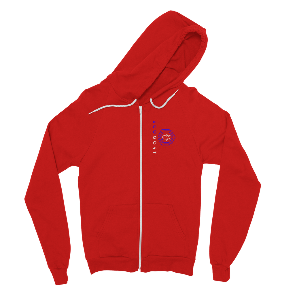eco friendly, environmental friendly, ecological, bio, biological, reusable, environmentalist, organic, green, sustainable clothing, sustainable fashion, sustainable brands, sustainable development. plastic free shop, hoodie, zip hoodie, red,