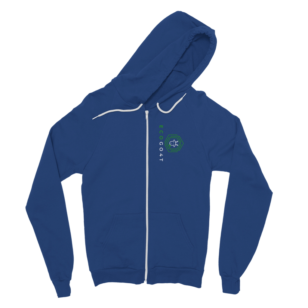 eco friendly, environmental friendly, ecological, bio, biological, reusable, environmentalist, organic, green, sustainable clothing, sustainable fashion, sustainable brands, sustainable development. plastic free shop, hoodie, zip hoodie, blue,