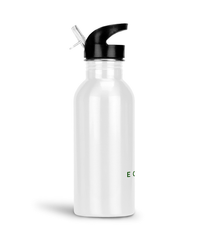 eco friendly, environmental friendly, ecological, bio, biological, reusable, environmentalist, organic, green, sustainable clothing, sustainable fashion, sustainable brands, sustainable development. plastic free shop, durable, tumbler, aluminium, water bottle, white, straw, straw water bottle,