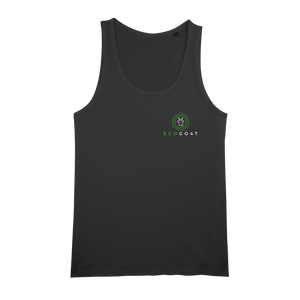 eco friendly, environmental friendly, ecological, bio, biological, reusable, environmentalist, organic, green, sustainable clothing, sustainable fashion, sustainable brands, sustainable development. plastic free shop, organic cotton, tank top, black,