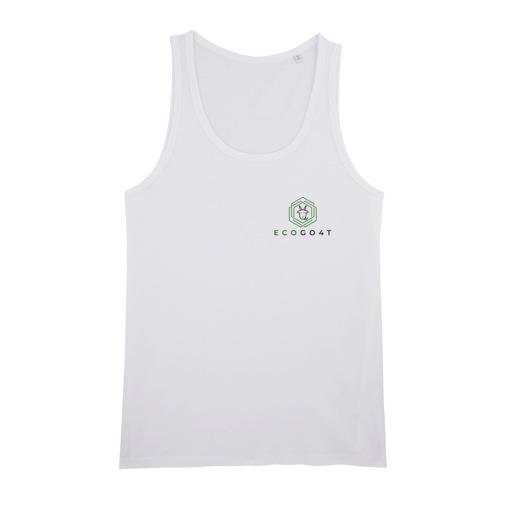 eco friendly, environmental friendly, ecological, bio, biological, reusable, environmentalist, organic, green, sustainable clothing, sustainable fashion, sustainable brands, sustainable development. plastic free shop, organic cotton, tank top, white,