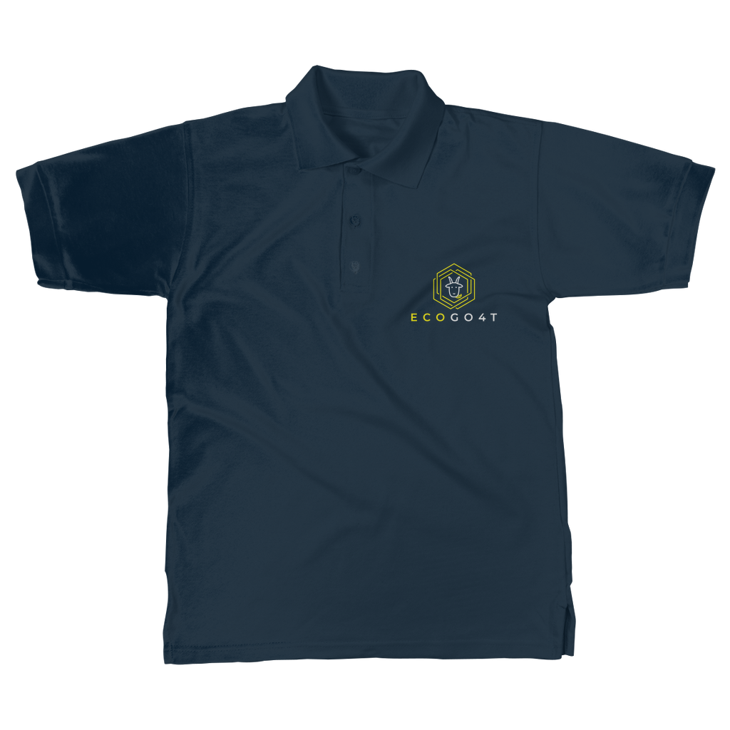 eco friendly, environmental friendly, ecological, bio, biological, reusable, environmentalist, organic, green, sustainable clothing, sustainable fashion, sustainable brands, sustainable development. plastic free shop, organic cotton, polo, polo shirt, navy,