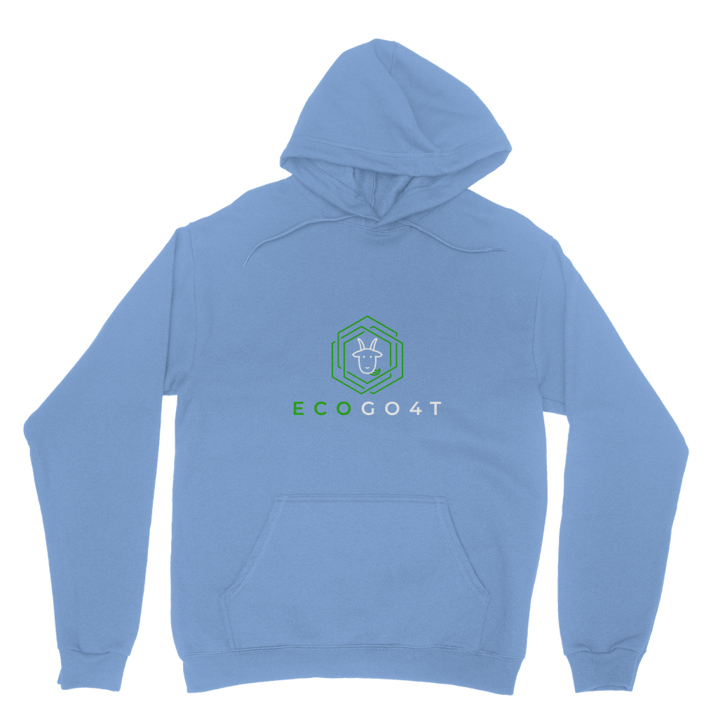 eco friendly, environmental friendly, ecological, bio, biological, reusable, environmentalist, organic, green, sustainable clothing, sustainable fashion, sustainable brands, sustainable development. plastic free shop, hoodie, light blue,