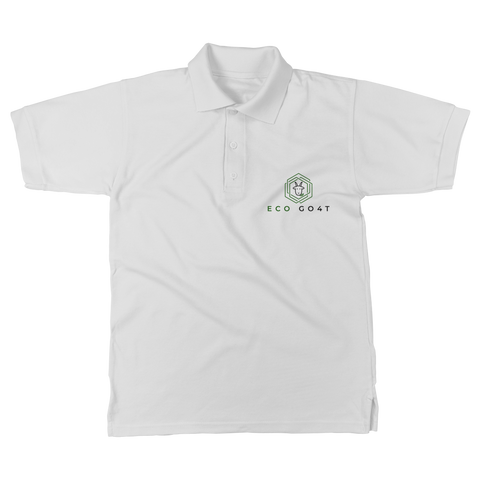 eco friendly, environmental friendly, ecological, bio, biological, reusable, environmentalist, organic, green, sustainable clothing, sustainable fashion, sustainable brands, sustainable development. plastic free shop, organic cotton, polo, polo shirt, white,